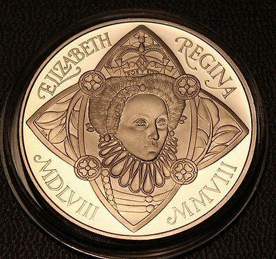 ~~ 2008 Royal Mint Elizabeth the First Proof Five Pound Crown £5 Coin ~~