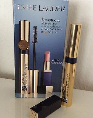 Estee Lauder Sumptuous Bold Volume Lifting Mascara und Pure Color Envy Lipstick