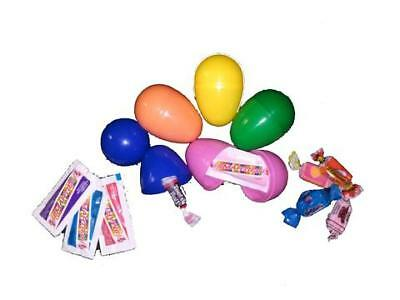 Plastic Easter Eggs Filled with Candy - 1000 Count
