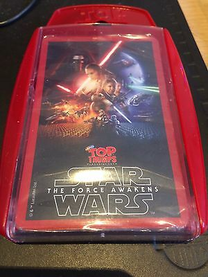 Bundle Of 12xStar Wars Force Awakens Top Trumps Card Games