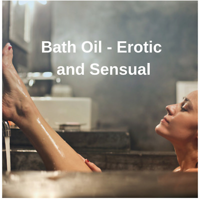 Bath Oil, 100ml Tease and Please, Lust, Heat, Passion, Tingle, His FREE P&P