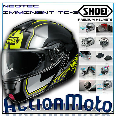 Casco Helmet Modulare SHOEI NEOTEC IMMINENT TC-3 calotta in Fibra moto motard