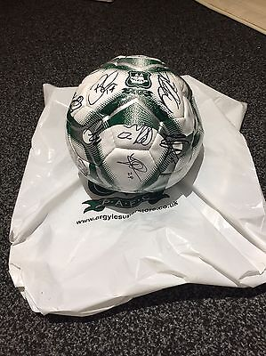 Plymouth Argyle Signed Ball