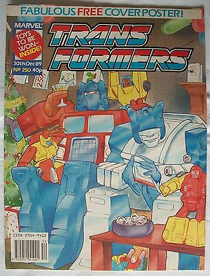 Transformers UK Comic Issue 250 with wrap-around cover art