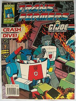 Transformers UK Comic Issue 251
