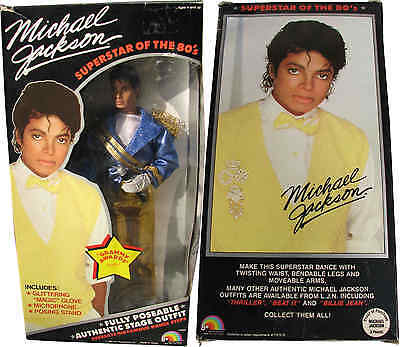 Michael Jackson Poupée Figure GRAMMY Outfit Doll Puppe TOY NEW in Box USA 1984