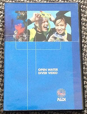 """PADI """"OPEN WATER DIVER VIDEO"""" 2 DISC DVD For Certified Divers"""