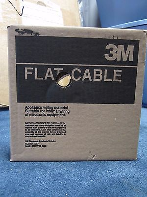 3M Flat Cable Appliance Wiring Material 3365/06SF 100Ft 28AWG STR