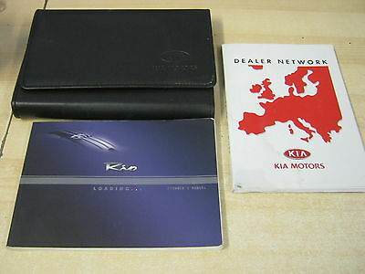 Kia Rio Handbook Pack Owners Manual 2002-2006 And Wallet