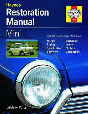 MINI RESTORATION BOOK COOPER TRAVELLER CLUBMAN Haynes Owners Manual Handbook