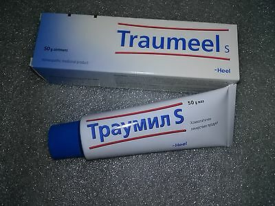 Traumeel S 50gr Pain Relief Analgesic Anti Inflammatory Homeopathic Ointment