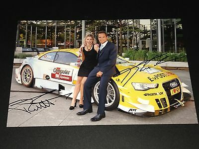 DTM Timo Scheider & Frey 20x30 Signiert Signed Autograph High Quality ***TOP***