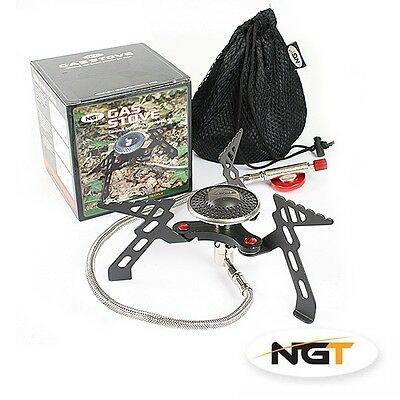 New NGT portable gas stove for carp/coarse fishing
