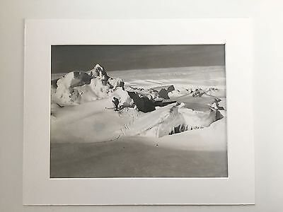 82 year old silver gelatin photograph 1935 Antarctic expedition Richard E Byrd