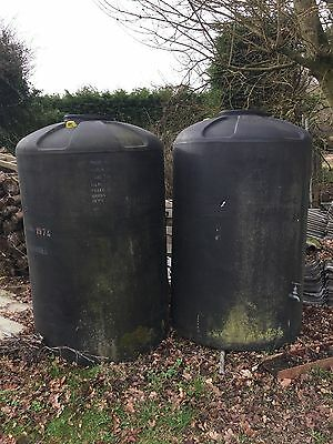 Very Large Water Tank/Butt/Storage, Approx 1520L Rain Water