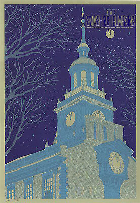 MINT Smashing Pumpkins 2007 Tower Theater Todd Slater Poster 147/200