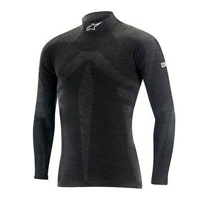 Alpinestars 4755216-106-M/L EVO LS Top, Black, M/L