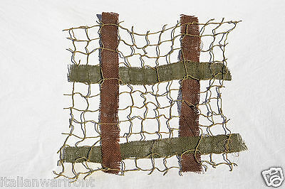 Us Wwii M1 Helmet Camouflage Net Cover And Camo Burlap Straps Usa Ww2 Army Para