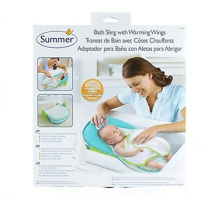 Infant Bath Seat w/ Warming Wings New Summer Infant
