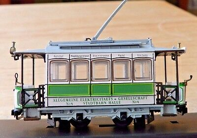 HOn3 SCALE CLASSIC TROLLEY STATIC Layout Ready as Pictured Beautiful Item Mint
