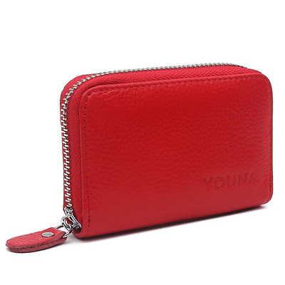 Credit Card Wallet,YOUNA RFID Blocking Genuine Leather Credit Card Holder for Wo