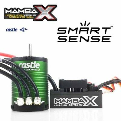 Castle Creations Mamba SCT PRO 1/10 Sensored 25.2V Waterproof ESC & 1410 3800KV