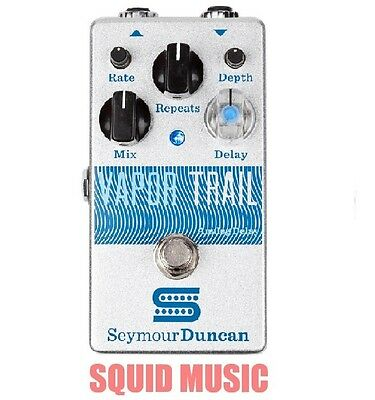 Seymour Duncan Vapor Trail Analog Delay 600ms. True Bypass Dry Gain: 1dB fixed