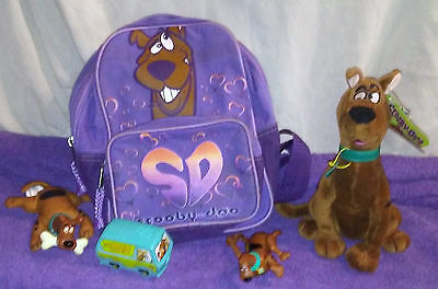 Collectible Scooby Doo Toy 's An Backpack Take A Look !!!