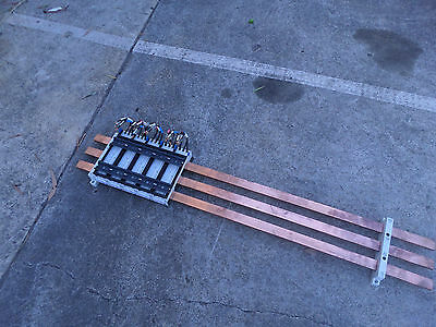 RITTAL BUSBAR 3 PHASE DISTRIBUITON SYSTEM - COMPLETE - 30x20 COPPER w/Mounts