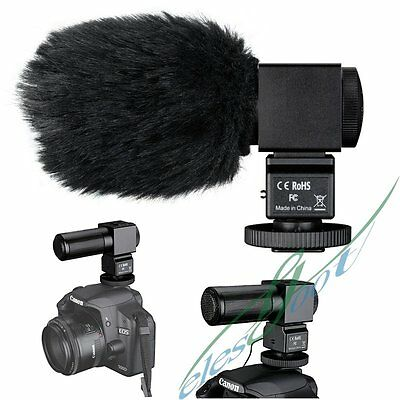 TAKSTAR SGC-698 Professional X-Y Stereo Microphone Mic For Video Camera DV【UK】