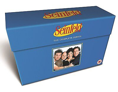 "Seinfeld Complete Series Collection Deluxe Dvd Box Set 33 Disc R4 ""new&sealed"""