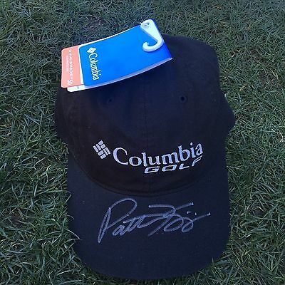 Patton Kizzire Signed Hat Columbia Golf New
