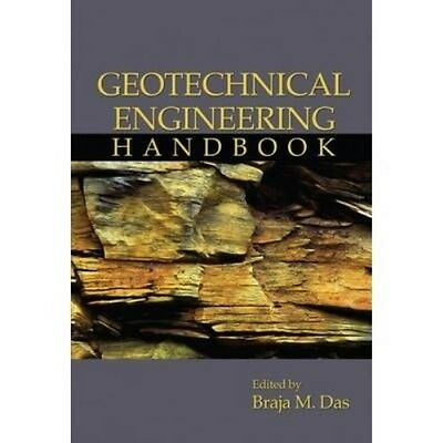 Geotechnical Engineering Handbook H/c by Braja M. Das Hardcover Book (English)
