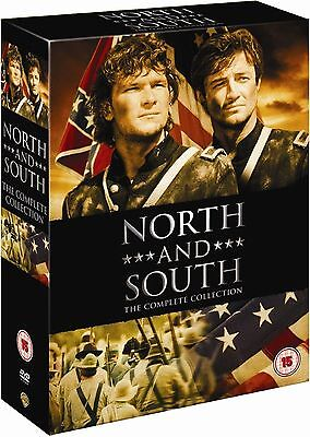 "North And South Complete Series Collection 8 Disc Dvd Box Set R4 ""new&sealed"""