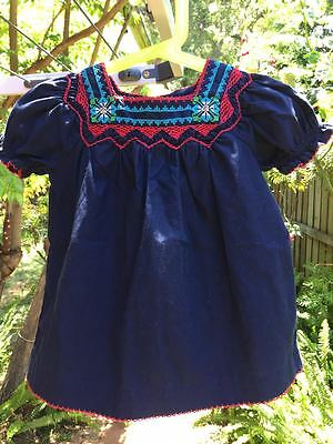 Gorgeous Baby Gap Girls Embroidered Top Size 2 Vguc Free Post :)