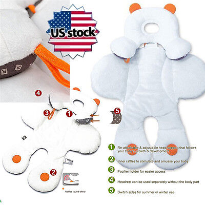 US STOCK Fashion Baby Safety Seat Pram Stroller Safety Soft Cushion Seat Cover
