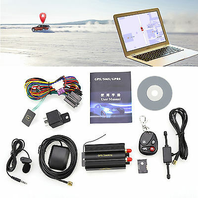 1x General Car Vehicle Spy SMS/GPS/GSM/GPRS Tracker Tracking Realtime System