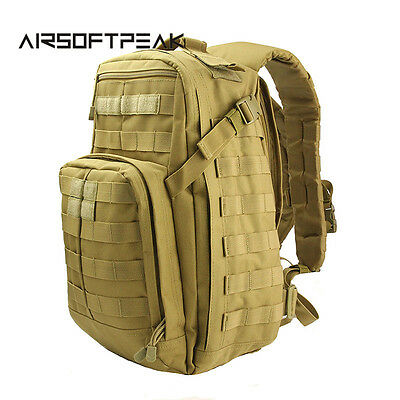 40L Outdoor Multifunctional Backpack Military Tactical Molle Shoulder Pack  H...