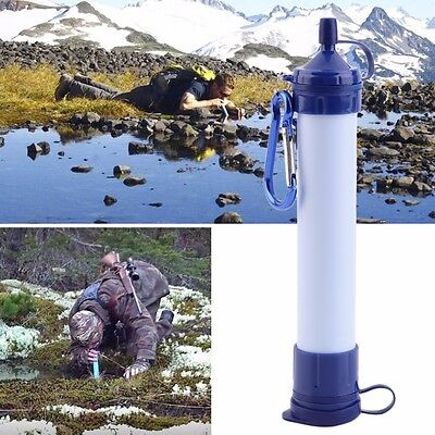SEWS  Drink Water Filter Purifier Personal Straw Portable Camping Purification