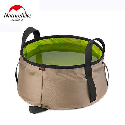 Naturehike  folding bucket washbasin lightweight foldable water container Out...