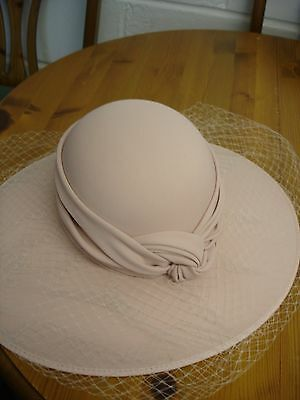 Ladies Formal Occasion Hat Cappelli Condici Dusty Pink