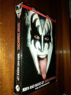 kiss Kiss and Make-up Gene Simmons Autobiography updated edition new pics