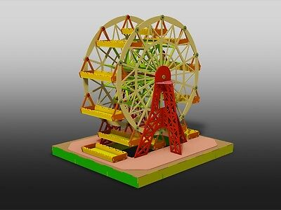 DXF CDR Cutting Files - Ferris Wheel Dispenser for Cupcakes & Delis - For Laser