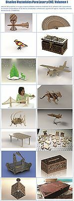 3D Puzzles & Assorted Vector Designs for Laser Engraver and CNC Router