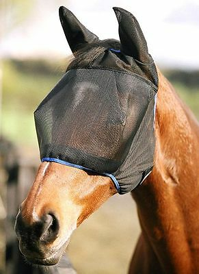 Equilibrium Midi Fly Mask With Ears Black Large