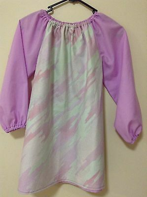 Kids Art Smock  Girls 8-10 With Thermal Lining To Give Extra Protection