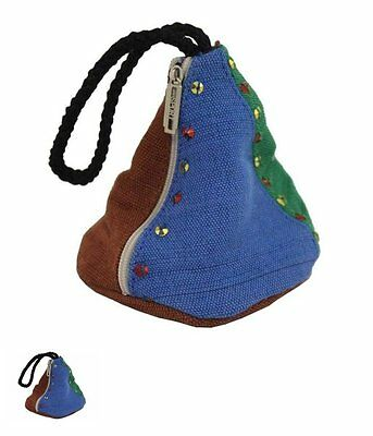 Small jute jewellery pouch jute. perfect for girls to keep coins and jewellery