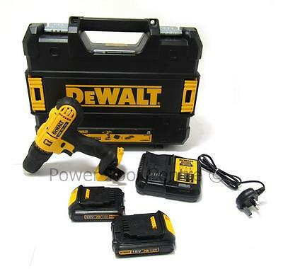 DeWalt Reconditioned DCD776S2T Cordless 18V Combi Drill x2 Batteries & Charger
