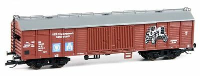 Karsei 23017 - Covered Goods Wagon Gags-v, DR, Ep.IV, brown 'Tractor plant' N