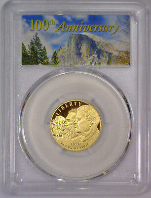 2016 W National Park 100th Anniversary Proof $5 Gold ~ PCGS PR 69 DCAM ~ Parks
